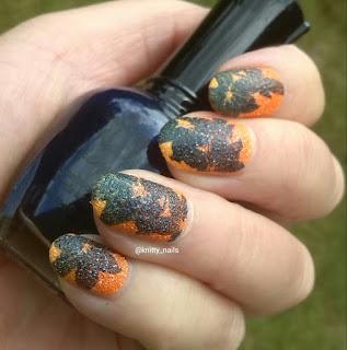 Vivid lacquer VL 014 and Kleancolor Neon Sapphire