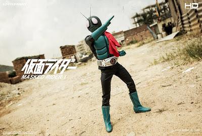 "Enterbay 1/4 Scale Kamen/Masked Rider 1 18"" Figure"