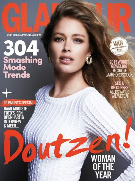 Doutzen Kroes - Dutch Glamour, February 2015