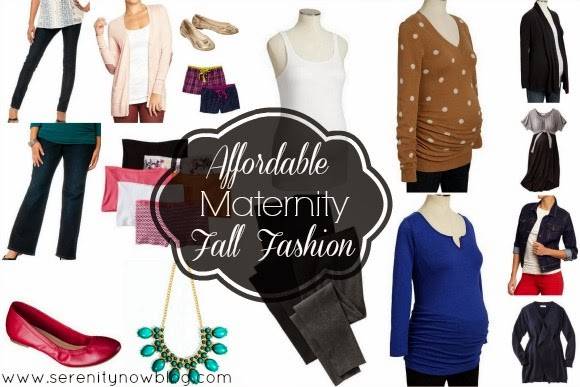 Affordable Fall Maternity Fashion, at Serenity Now
