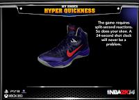 NBA 2K14 Nike Hyper Quickness