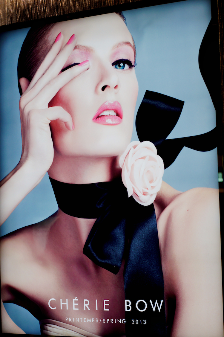 Dior Chrie Bow advertisement 