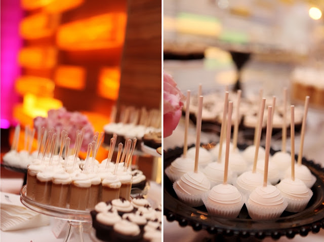 Dessert Shooters and Cake Pops for Wedding Twin Cities