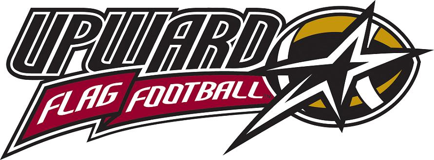 Upward flag football logo color
