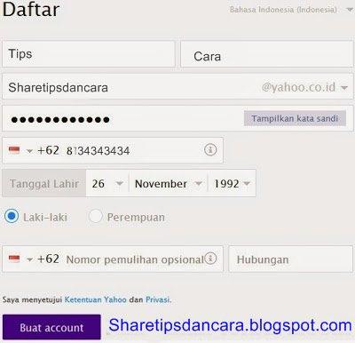Cara Membuat Email Gratis Dari Yahoo (Dengan Gambar)1