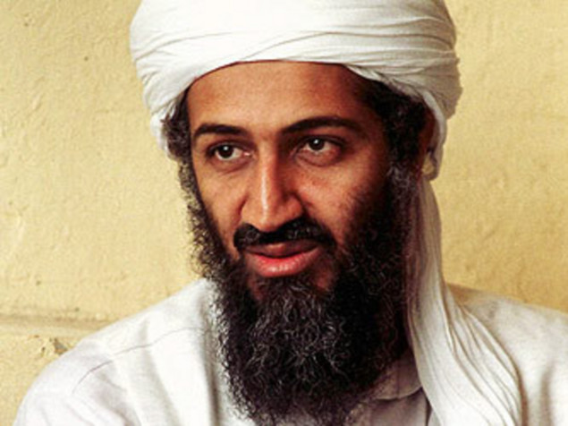 osama bin laden is dead. in 2001, Osama bin Laden.