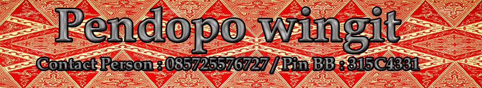 Pendopo Wingit