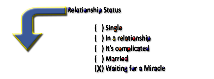 Funny Relationshp Status for Fb Timeline Cover