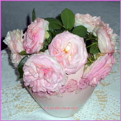 Design Bouquet Roses Pierre de Ronsard