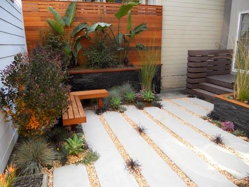 taman kering minimalis dalam rumah