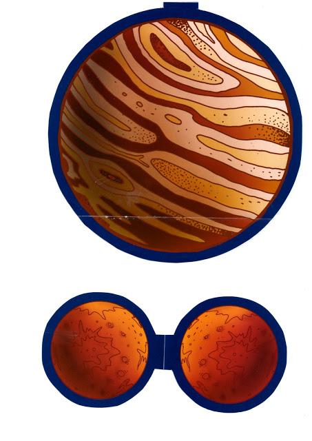 Recortables Del Sistema Solar Para Ni 241 Os Contenidos