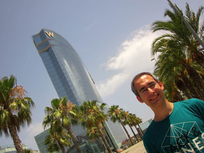 W Barcelona Hotel in Barcelona