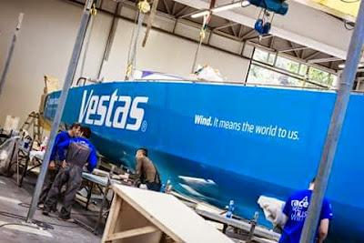 Team Vestas Wind bientot de retour sur la Volvo Ocean Race.