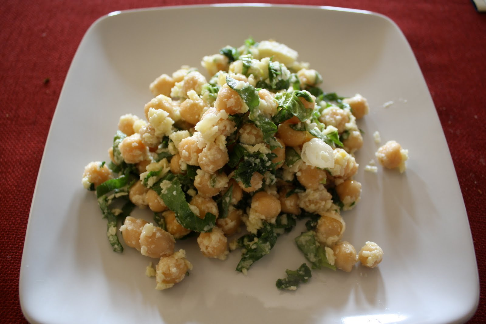 Lactose-Free Girl: Chickpea Salad with Lemon, Parmesan and ...