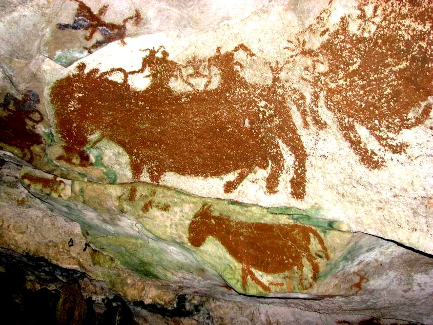 HISTORY OF CULTURE: CAVE PAINTINGS SOUTH SULAWESI
