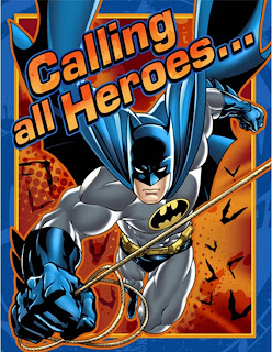Batman Heroes and Villains Invitations