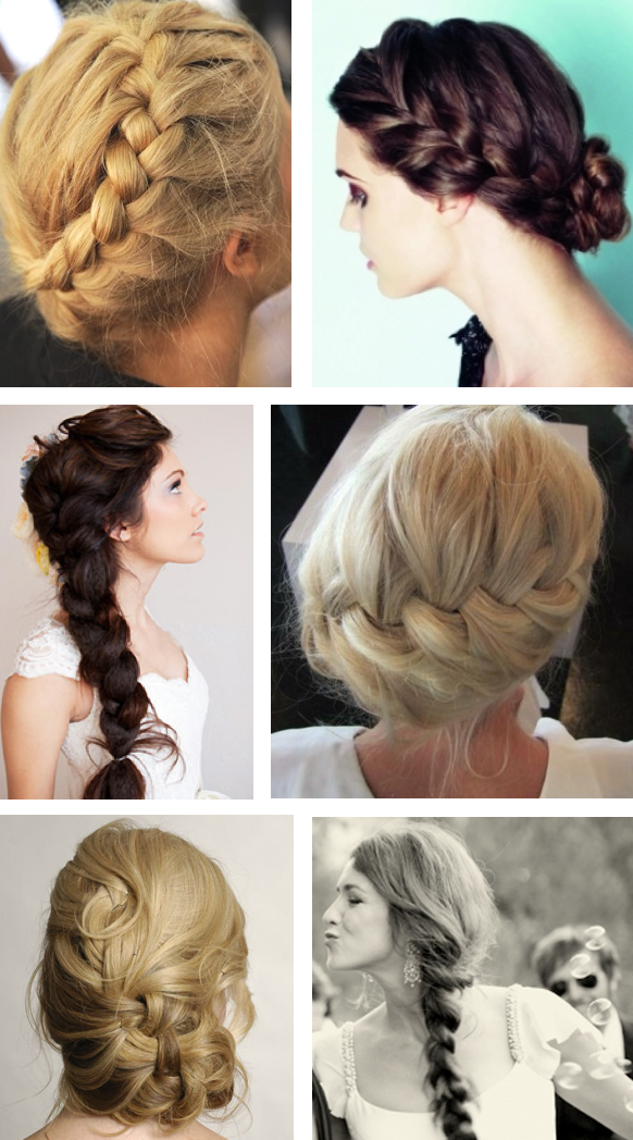 Bride Hairstyles Braids Braids are all the rage right now