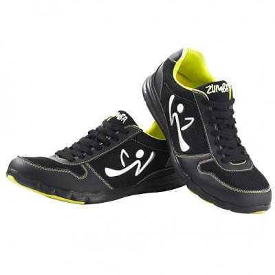 zumba fitness zkicks shoes on sale black 30% off