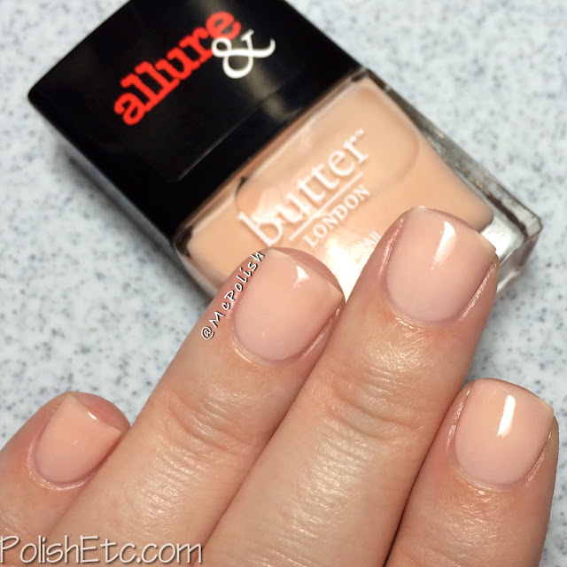 butterLONDON & Allure - Arm Candy Collection - McPolish - Nude Stilettos