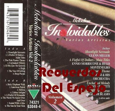 Cd Melodías inolvidables  vol.2 2