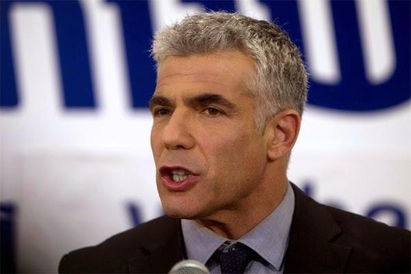Menteri Kewangan Israel Yair Lapid