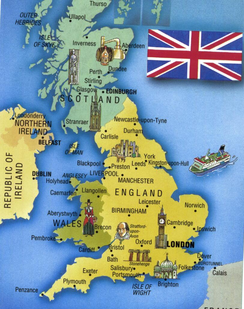 Official name united kingdom of great britain and northern ireland