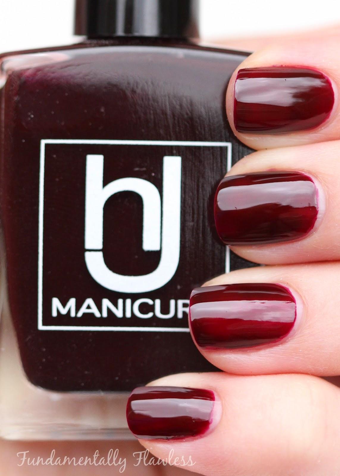 HJ Manicure Vamp swatch
