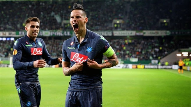 Highlights Wolfsburg 1 – 4 Napoli (Europa League)