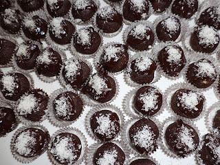 bonbon cocco nutella