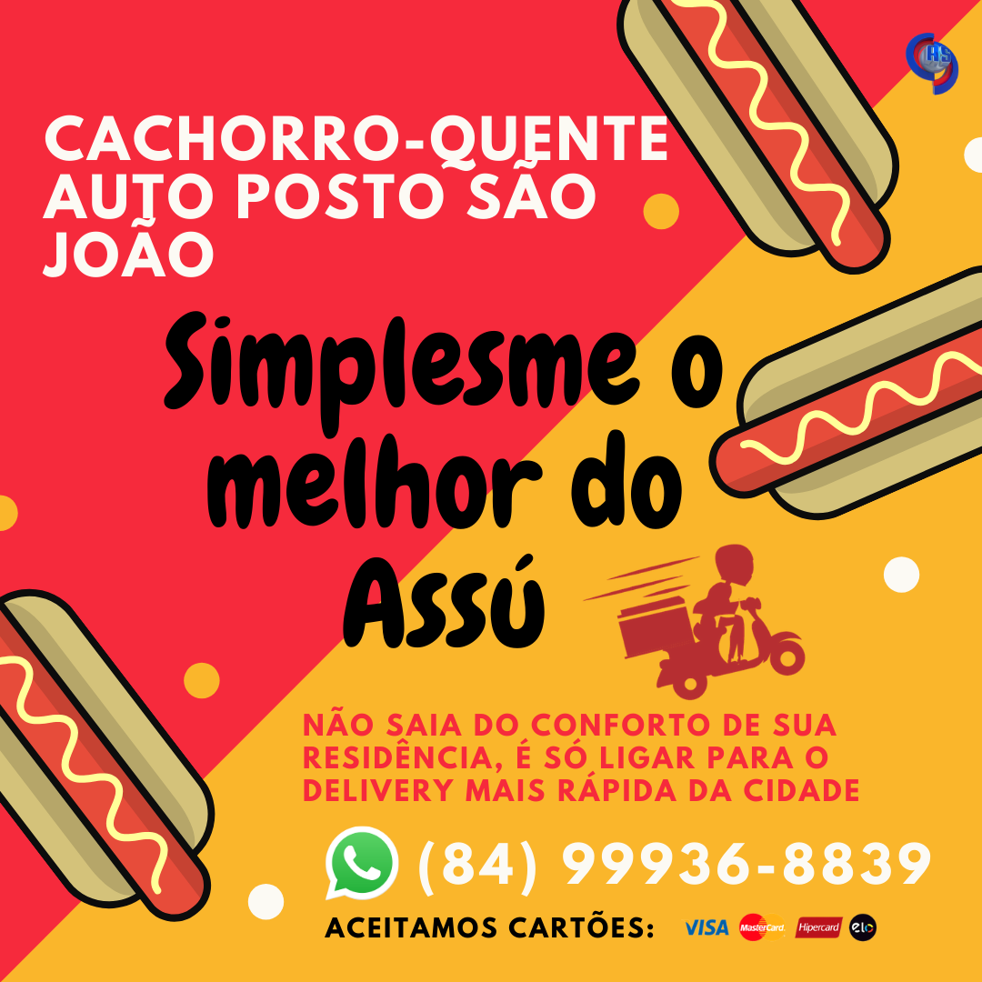 O delivery mais rápido do Assú