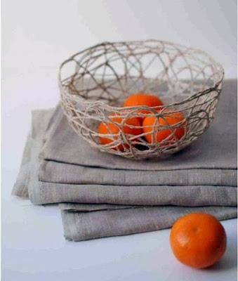 cesto frutero hecho en casa regalo
