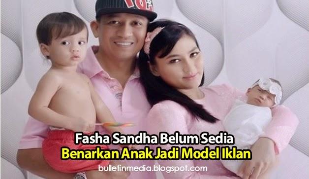 Fasha Sandha Belum Sedia Benarkan Anak Jadi Model Iklan