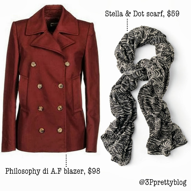 5 Scarf & blazer combos for fall