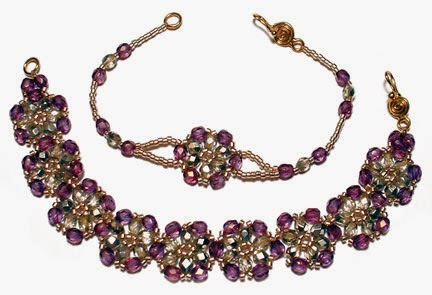 Hana-Ami Bracelets pattern