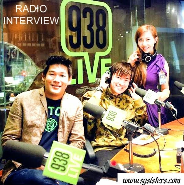 Sara Shantelle's Exclusive LIVE Interview on MEDIACORP RADIO 93.8FM !