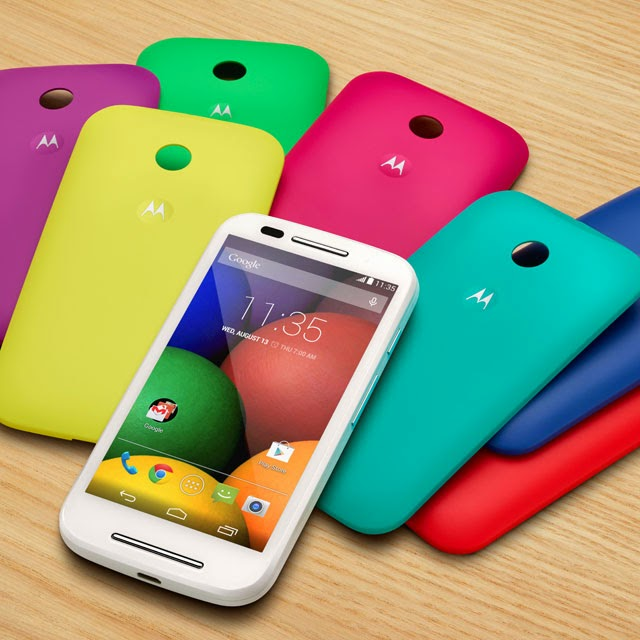 Motorola Moto E piihan warna