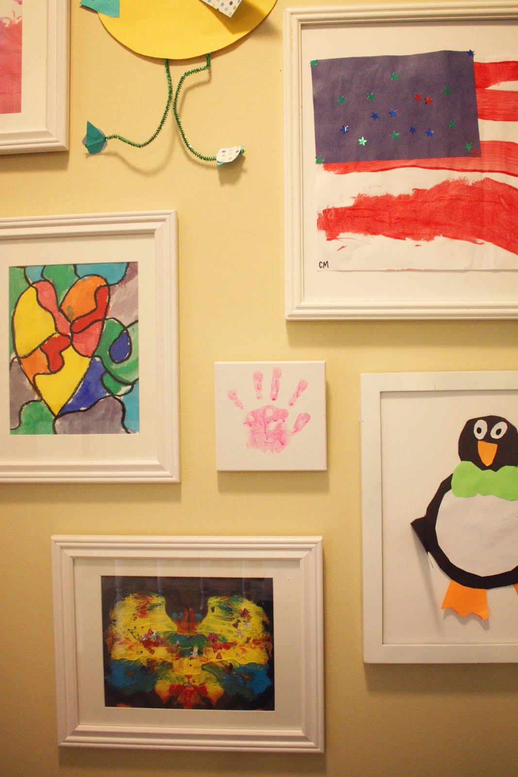 The Blue House Chronicles: Kids\' Art Wall