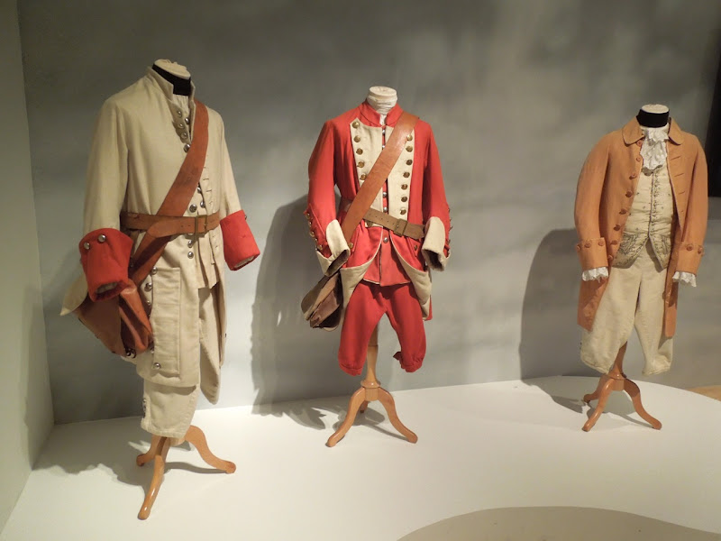 Original Barry Lyndon movie costumes