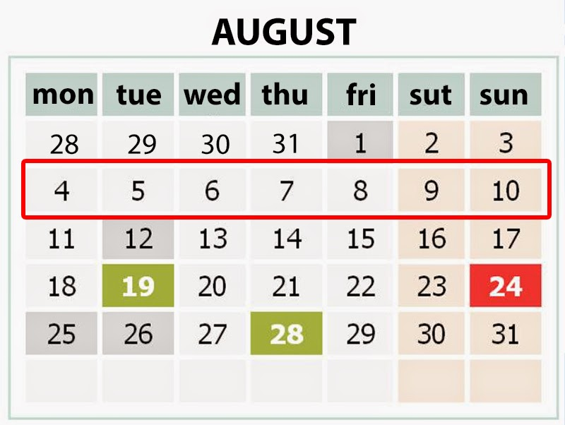 August 04-10, 2014 Ukraine:Weekly Highlights