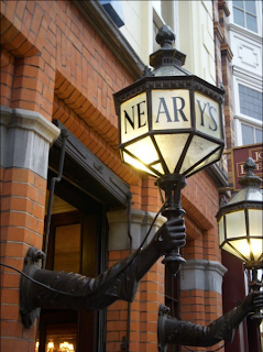 Neary's Laterns outside of the Pub