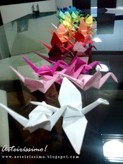 origami decoracao mesa festa