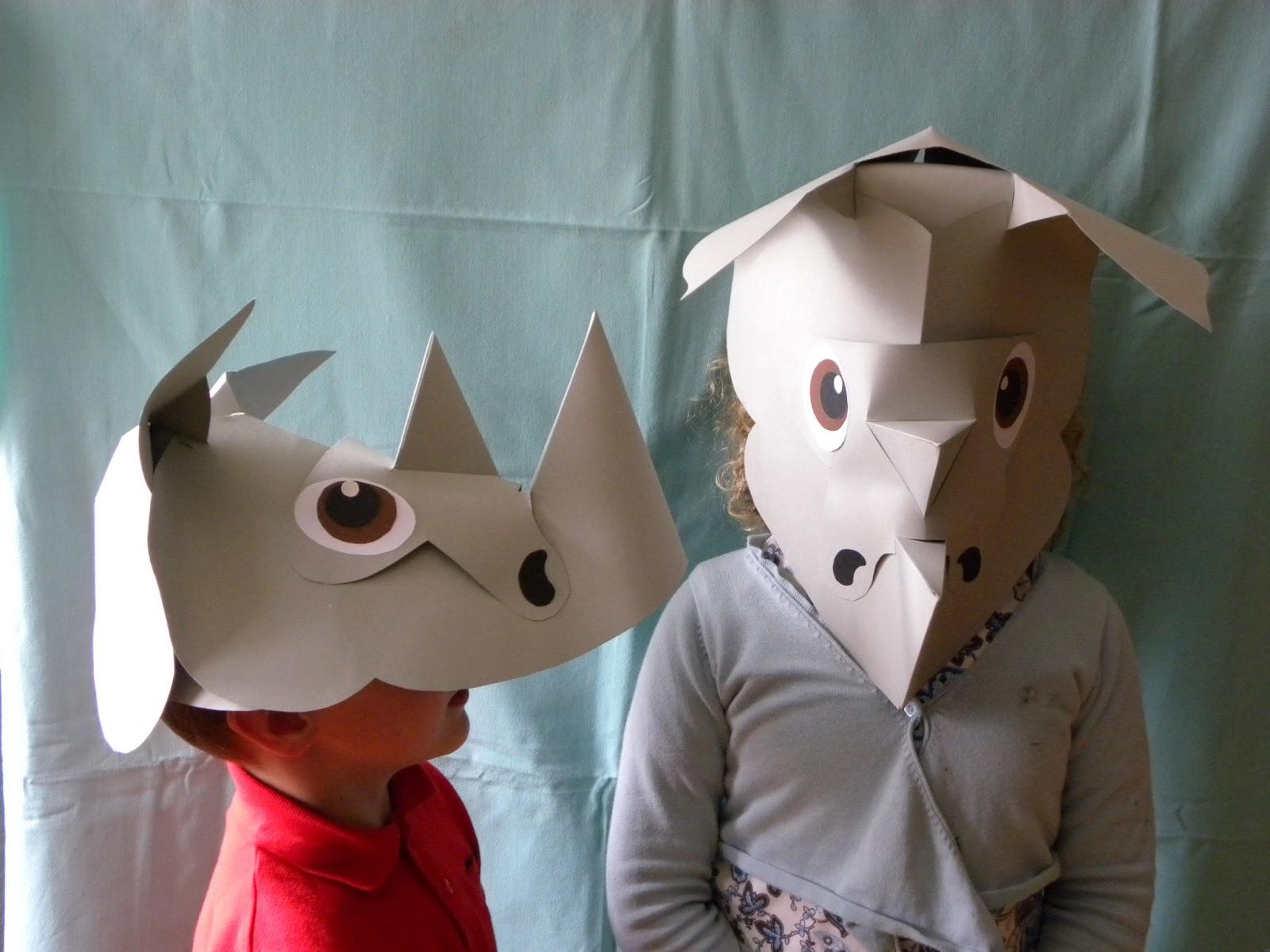 Mit Freude gemacht: Masken die 3