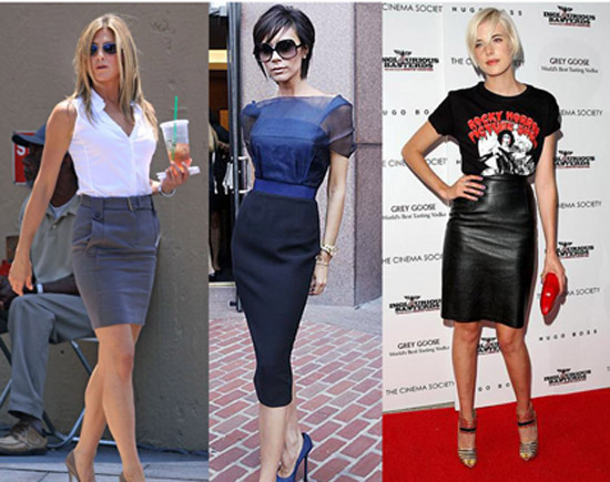 Fashion & Style: How to wear a pencil skirt!!