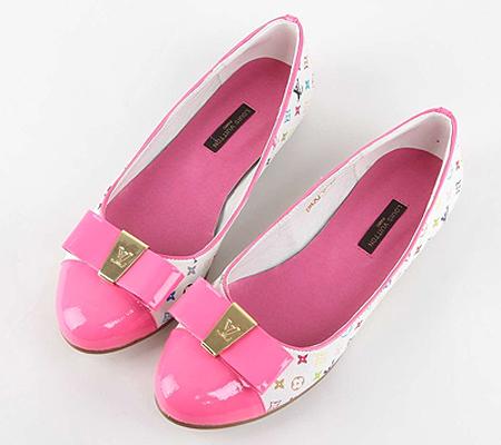 Розови балетни пантофки