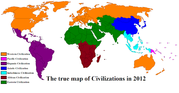 Civilizations map