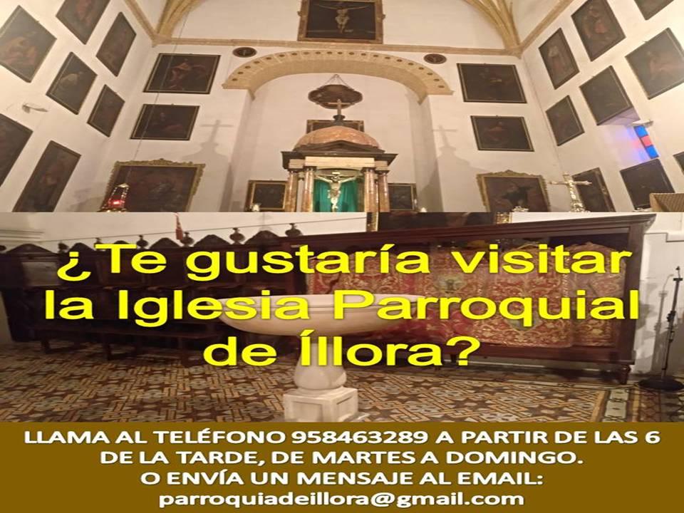 VISITAS A LA IGLESIA PARROQUIAL DE ÍLLORA
