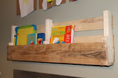 Natural Pallet Shelf