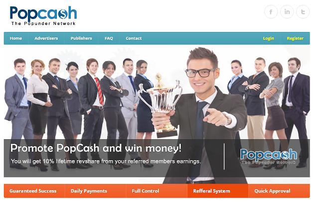 Cara Daftar PopCash
