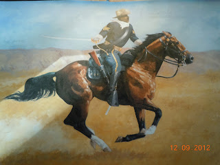 buffalo soldier painting
