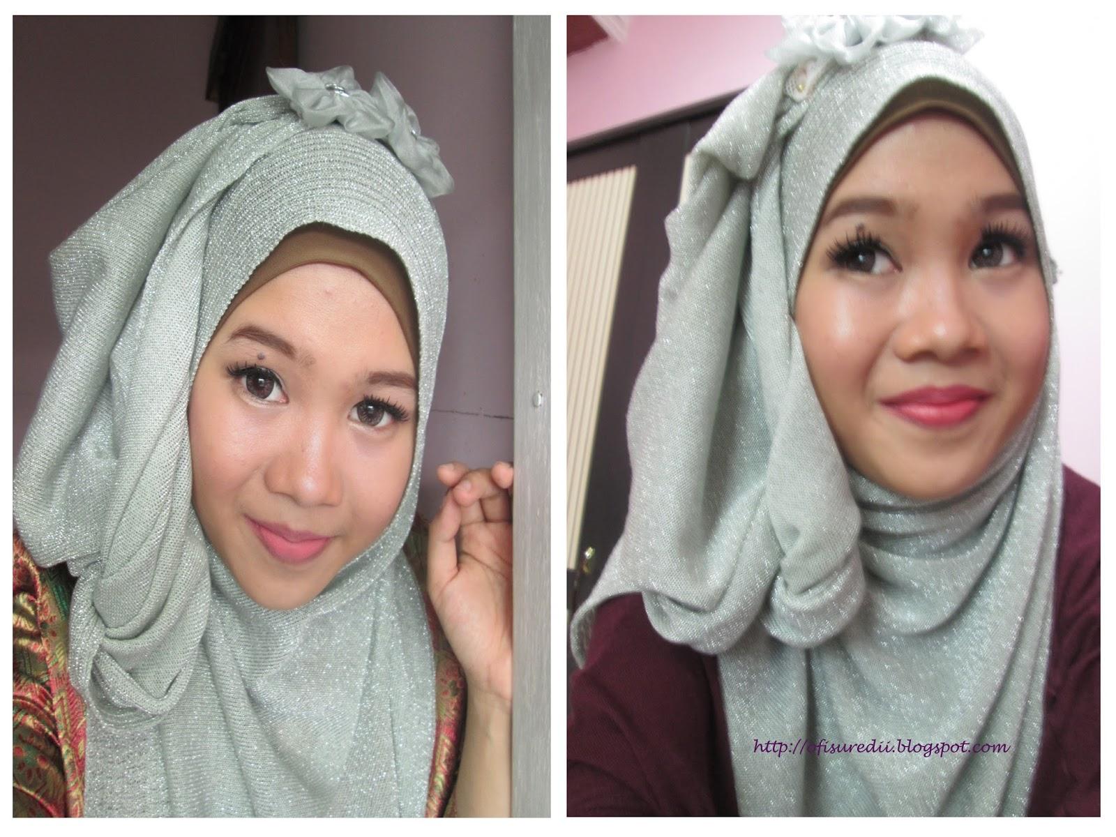 Hijab Tutorial Cantik Di Hari Fitri Ofisu Redii